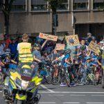Eine Fahrradstadt ist eine kinderfreundliche Stadt
