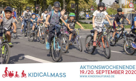 Kidical Mass Aktionswochenende September 2020