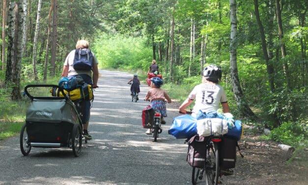 Pause! Pommes! So geht Familien-Fahrrad-Urlaub