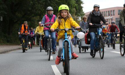 Kidical Mass: Zehntausend Kinder erobern die Straßen zurück!
